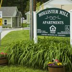 Hollister Hill Apartments main entrance sign